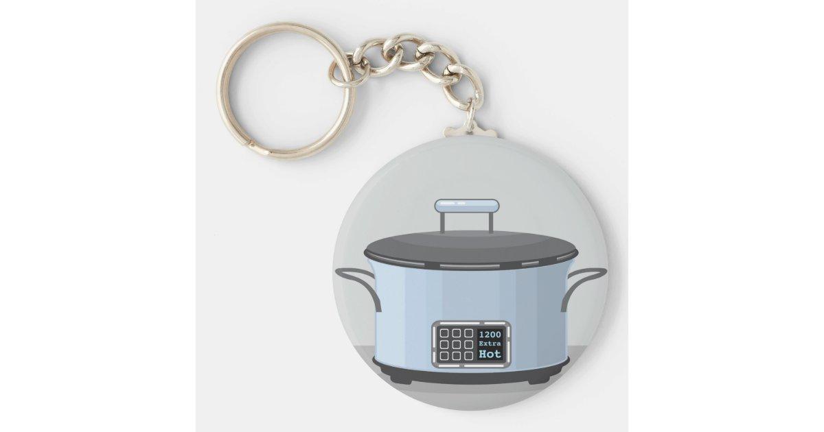 Pot keychain
