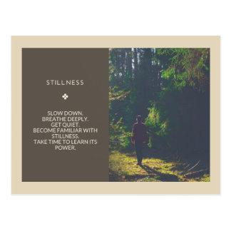 Slow Down. Breathe Deeply. Get Quiet Postcard 004