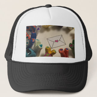 Slow Down Snails Trucker Hat