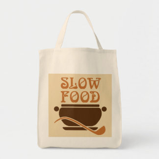 Slow Food is best Tote Bag