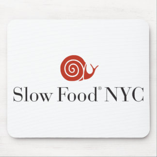 Slow Food NYC logo products Mouse Pad