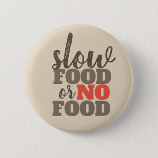 Slow Food or No Food Button