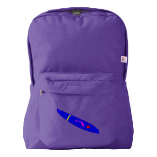 Slow Move Blue Chili Backpack