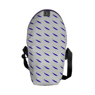 Slow Move Blue Chili Courier Bags