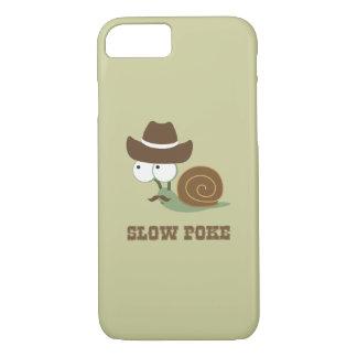 Slow Poke! - Cowboy Snail iPhone 7 Case