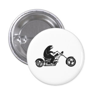 Slow Sloth On A Fast Bike 1 Inch Round Button