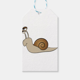 slow snail gift tags