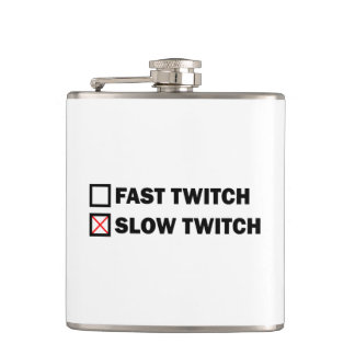 Slow Twitch Hip Flask