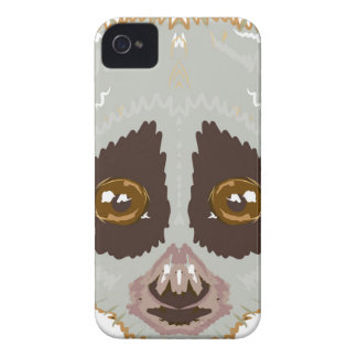 SlowLorisSketchL iPhone 4 Cover