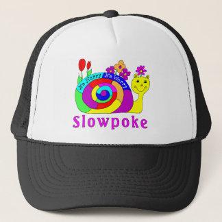 """""""Slowpoke"""" Slowpoke The Snail Trucker Hat"""