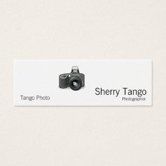 SLR Camera Mini Business Card