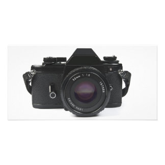 slr photo camera - classic design photo cards