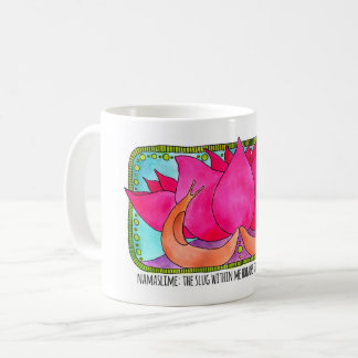 Slug and Lotus mug