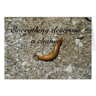 Slug-Deserves a Chance. Card