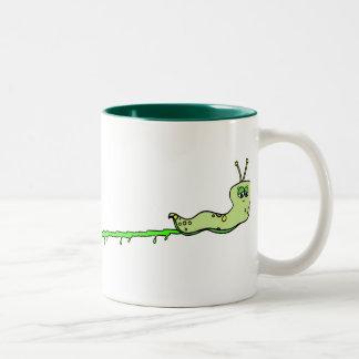 Slug-ish Two-Tone Coffee Mug