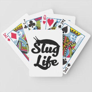 Slug Life Bicycle Playing Cards