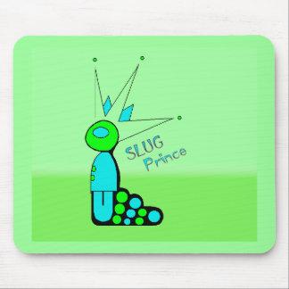 Slug prince mouse pad