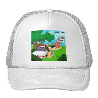 Slug Traffic Cop Funny Trucker Hat