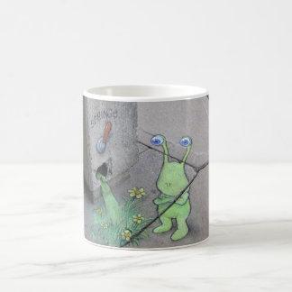 sluggo and the spring lever mug