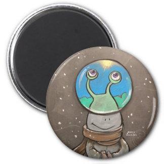 sluggo's anti-snow globe magnet