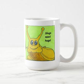 Slugs need hugs! coffee mug