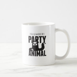 Slumber Party Animal Coffee Mug