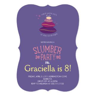 Slumber Party Birthday Card