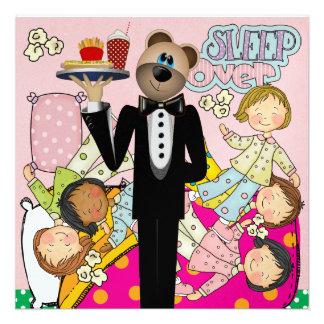 Slumber Party - Sleep Over - SRF Personalized Invitation