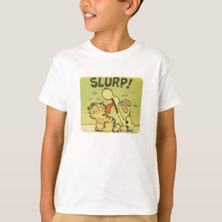 Slurp! Odie, kid's shirt