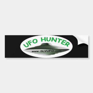 SLV UFO Hunter Bumper Sticker