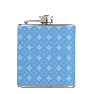 Sly blue shippo pattern flask