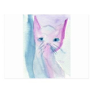 Sly Cat Postcard