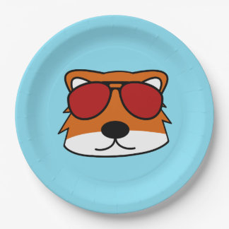 Sly Fox 9 Inch Paper Plate
