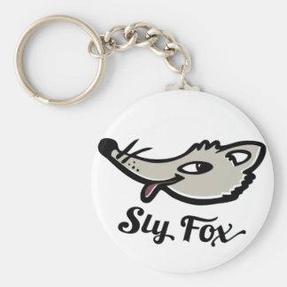 Sly fox keyring