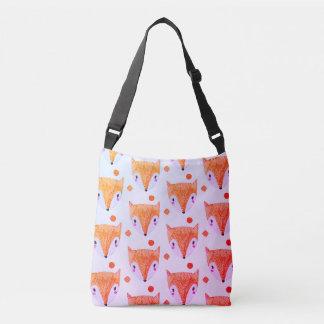 Sly Fox Watercolor Crossbody Bag