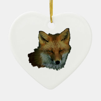 Sly Little One Ceramic Heart Ornament
