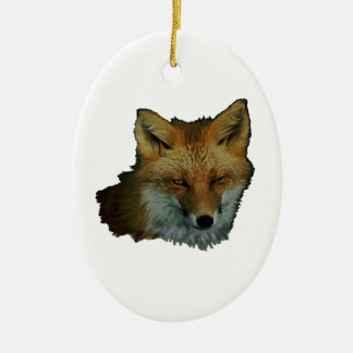 Sly Little One Ceramic Ornament