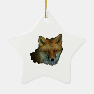 Sly Little One Ceramic Star Ornament