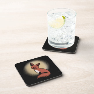 Sly Red Foxy Fox Coaster