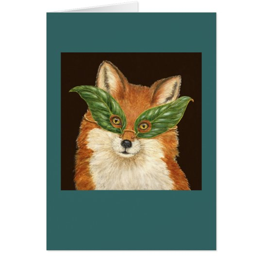 Sly the fox card