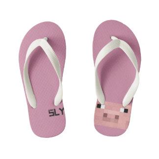 Slypig246 sandals kid's flip flops