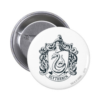 Slytherin Crest 2 Inch Round Button