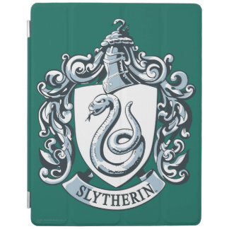Slytherin Crest Blue iPad Cover