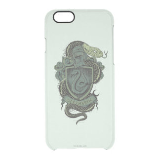 SLYTHERIN™ Crest Clear iPhone 6/6S Case