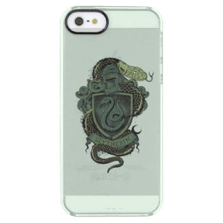 SLYTHERIN™ Crest Clear iPhone SE/5/5s Case