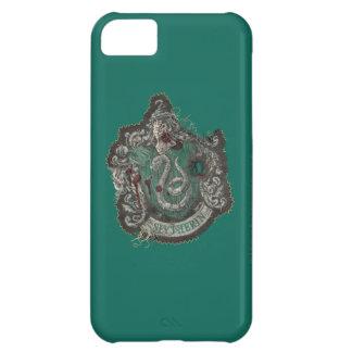 Slytherin Crest - Destroyed iPhone 5C Cases