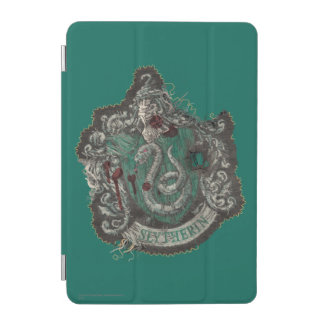 Slytherin Crest - Destroyed iPad Mini Cover