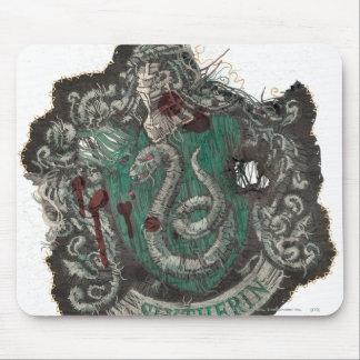 Slytherin Crest - Destroyed Mouse Pad