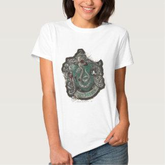 Slytherin Crest - Destroyed Tshirts