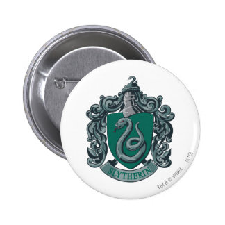 Slytherin Crest Green Buttons